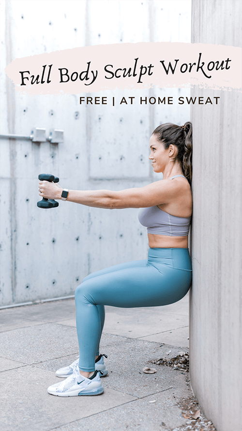 At-Home Full Body Workout for Weight Loss by Aleah Stander